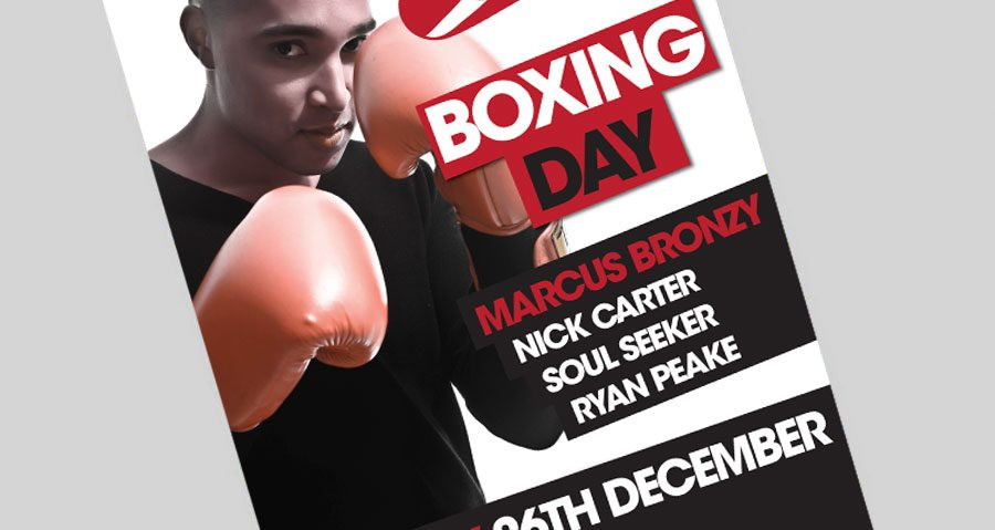MARCUS BRONZY BOXING DAY SPECIAL – 26TH DECEMBER
