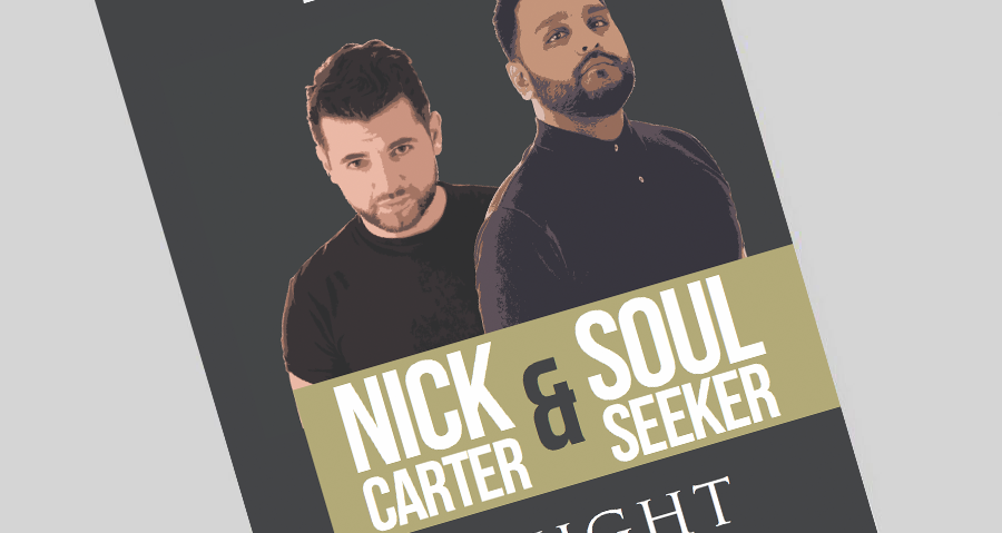 NICK CARTER & SOUL SEEKER – SATURDAY 18TH MARCH