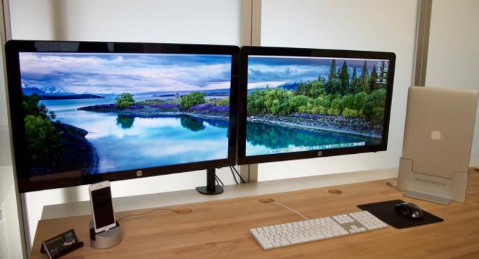 Hook up dual monitors to macbook pro