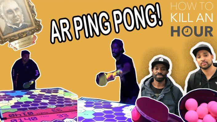 Wonderball Bounce Ping Pong