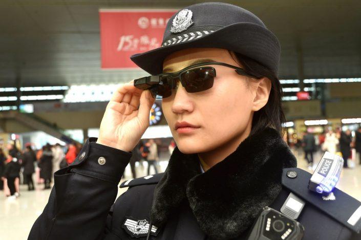 police facial recognition