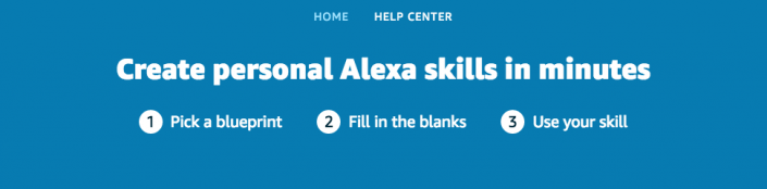Alexa Blueprints