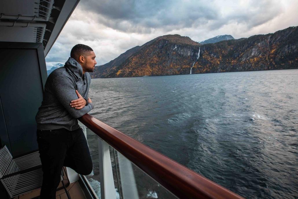 Aboard the Le Champlain