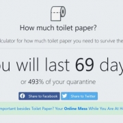 Toilet Paper Calculator