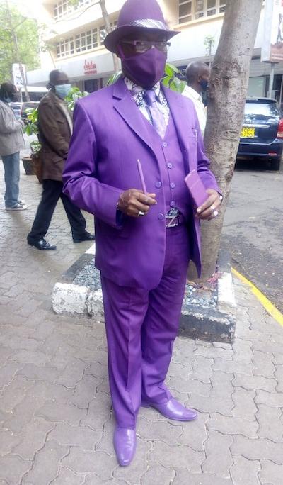 stylish man james maina mwangi kenya nairobi