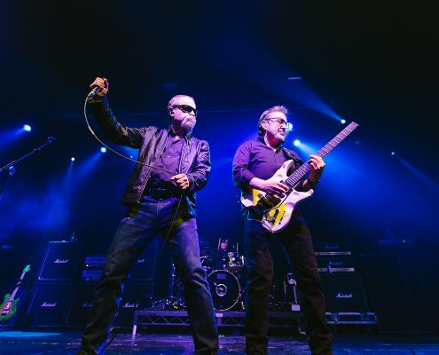 blue oyster cult on stage manchester event