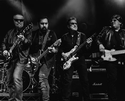 manchester photography event with blue oyster cult on stage