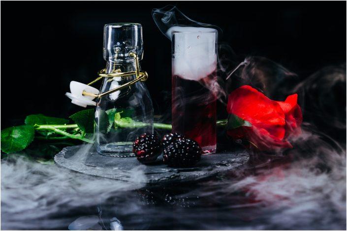 award winning photographer events food photography shot glass