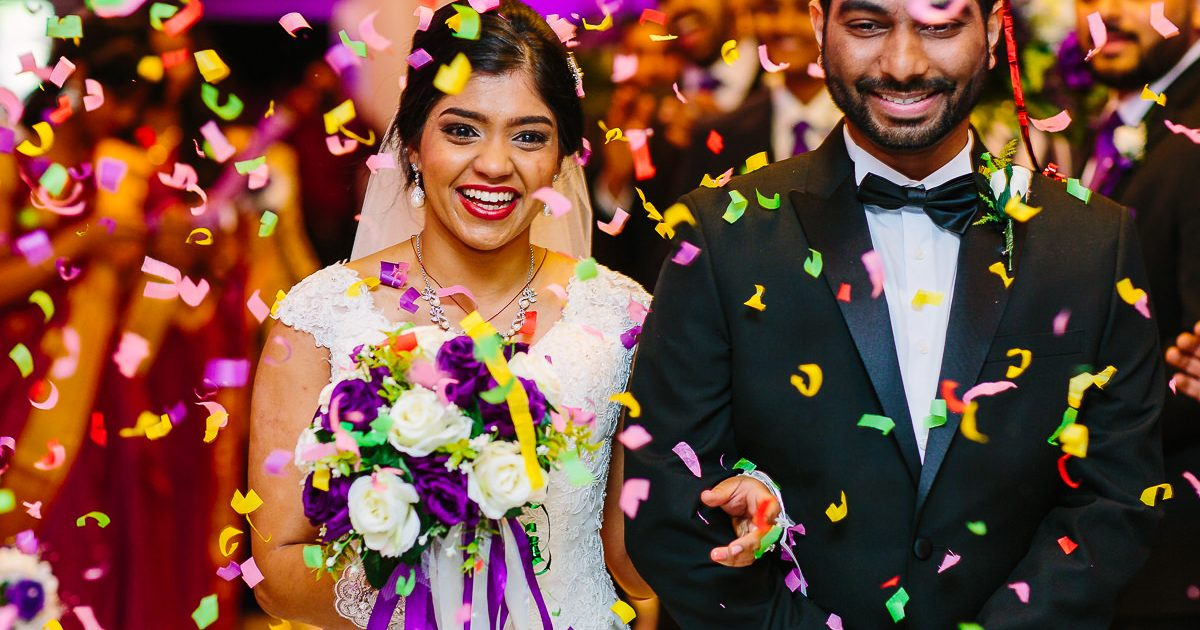 bride after getting married Indian wedding photography north west