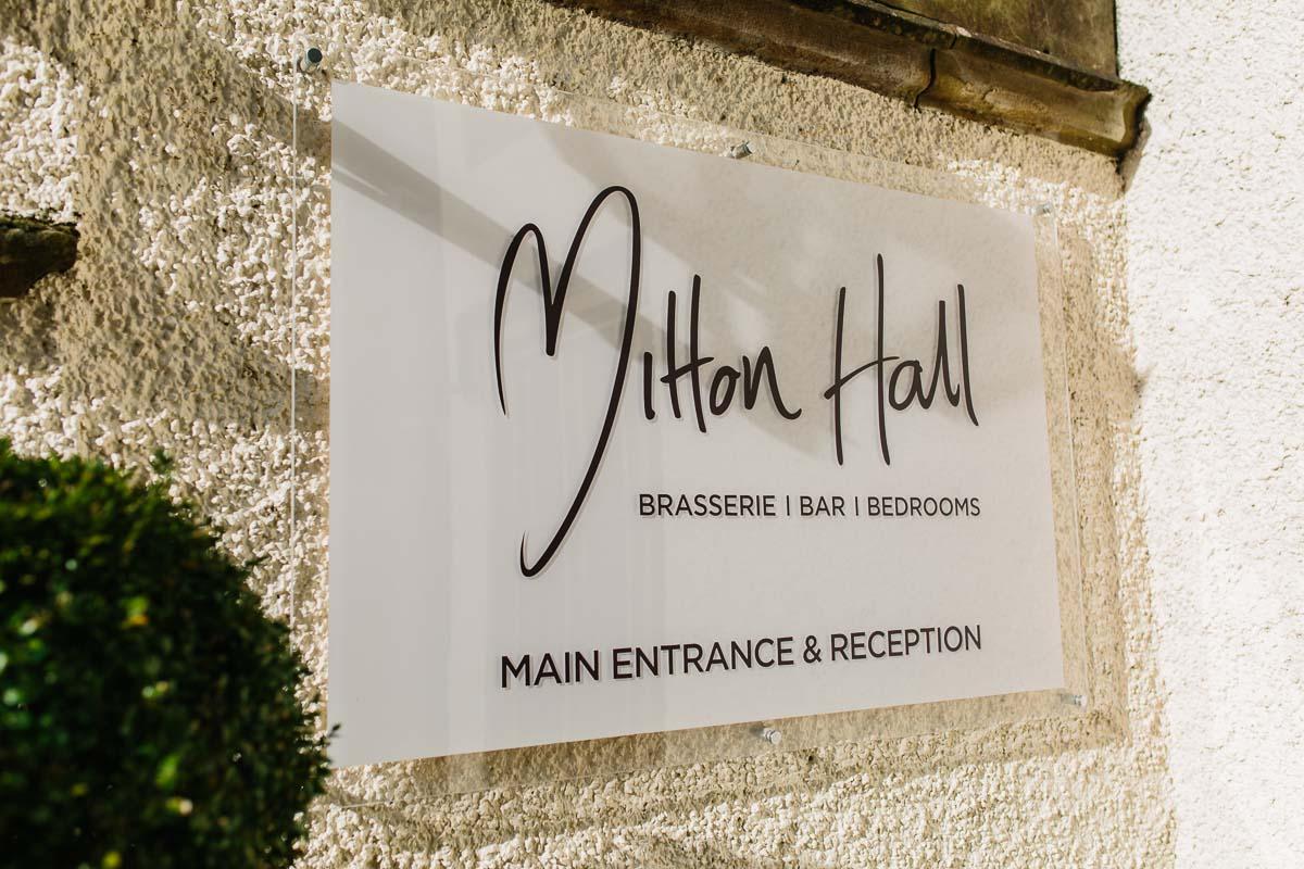 Mitton hall wedding venue ribble valley