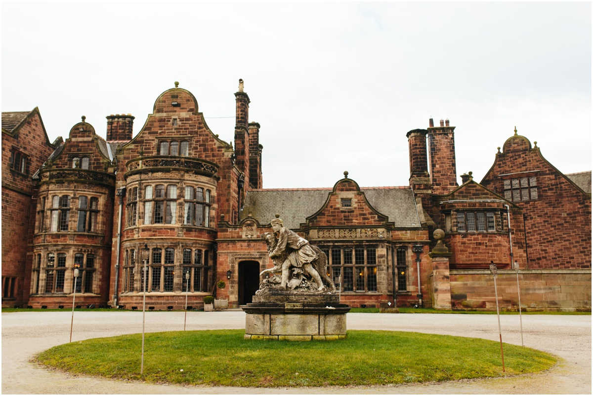 Cheshire wedding venue Thornton Manor