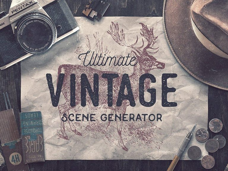 24e997d8f62 40+ Stunning Vintage Mockup Packs   Graphics