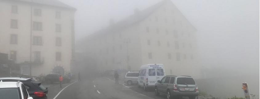 Great St Bernard Fog