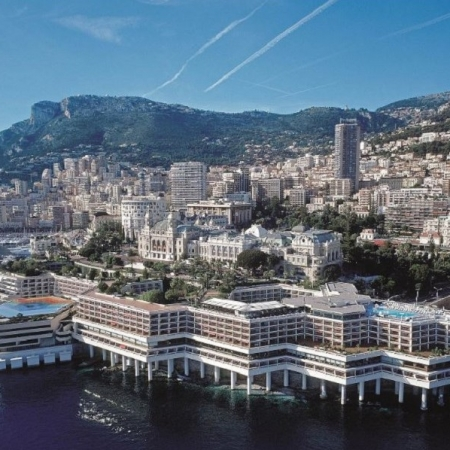 Hotel - Fairmont Monte Carlo - view from the sea
