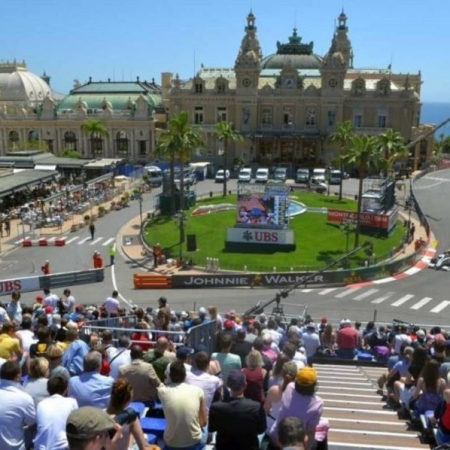 Monaco Grand Prix Casino Square - Brawn F1