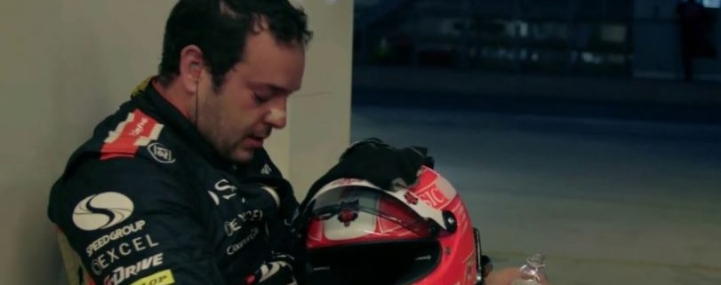 Ricardo Gonzalez after a race