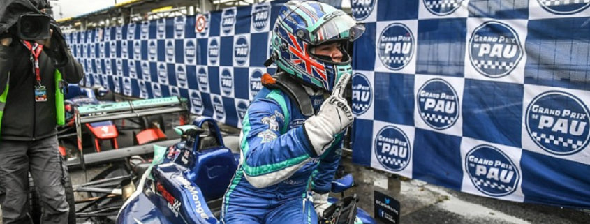 Billy Monger wins Pau Eurocup