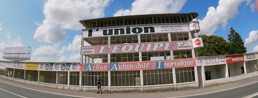Reims Grand Prix Circuit pit building