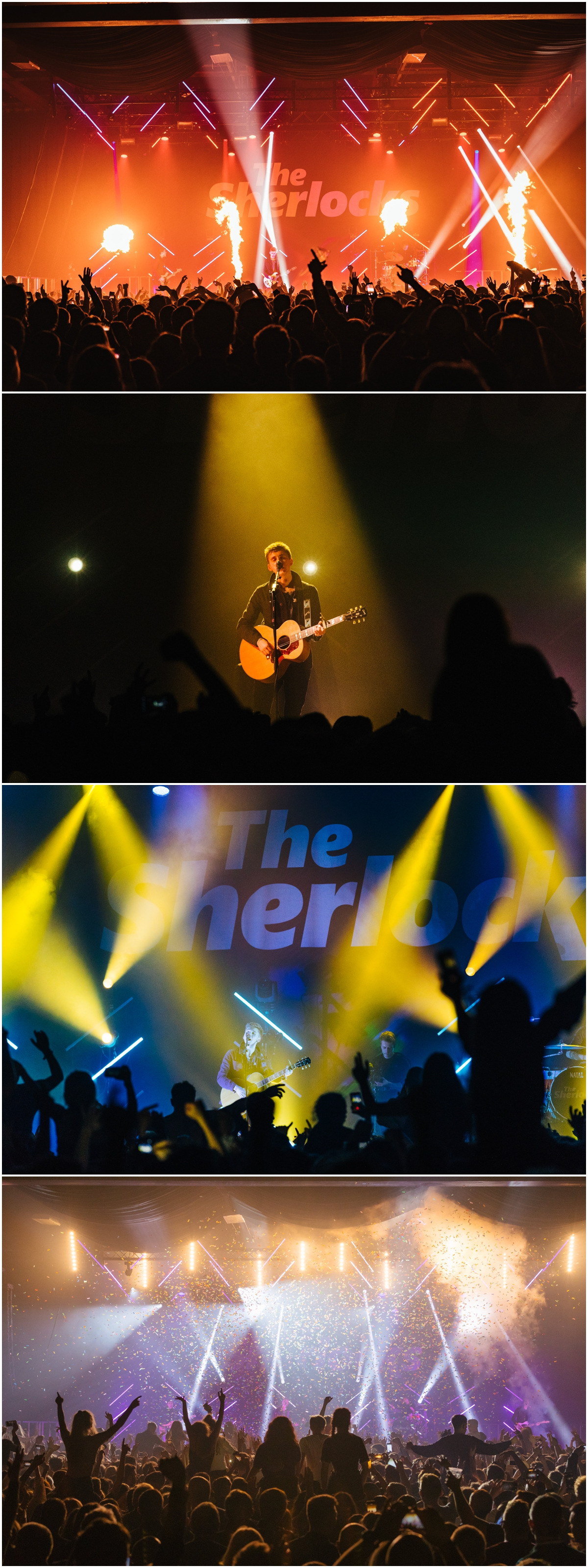 concert event photography the sherlocks manchester