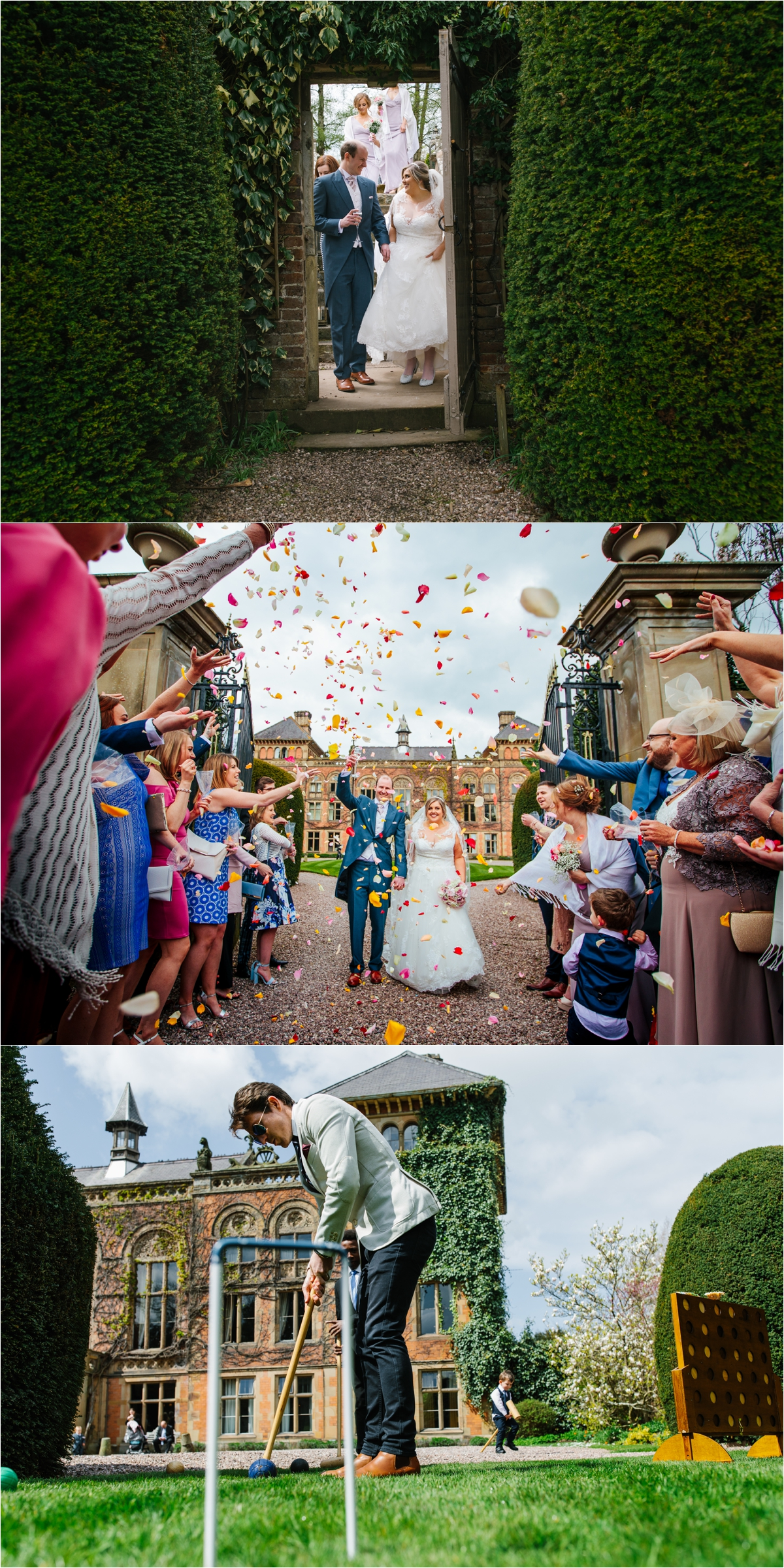 Lancashire wedding photographer soughton hall