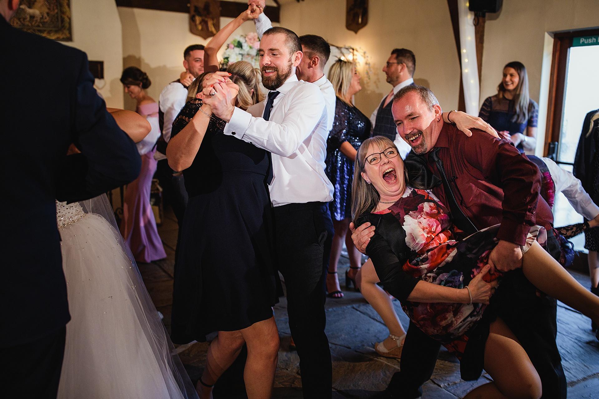 great hall at mains wedding photography