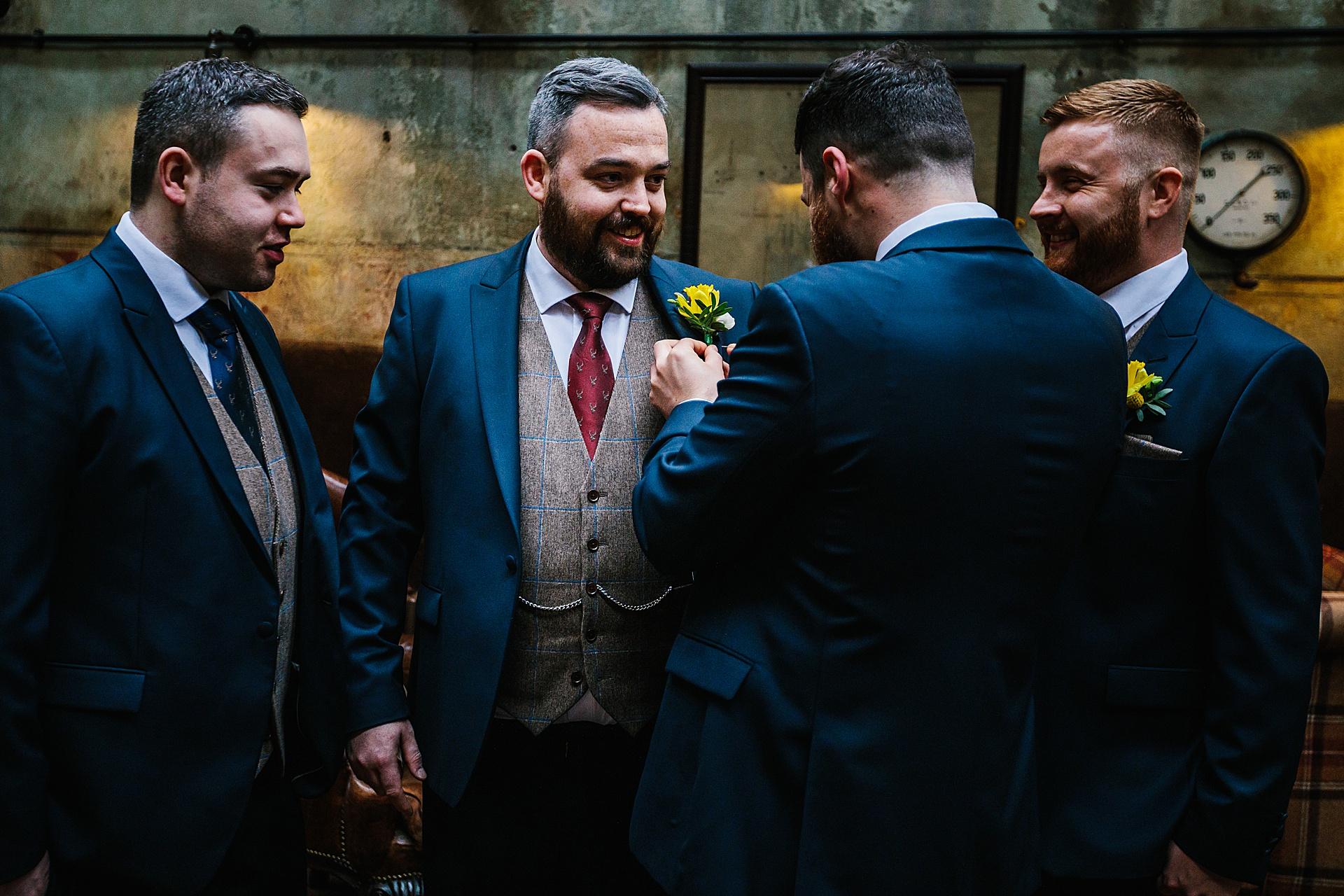 Lancashire award winning wedding photographer Holmes MiLL Clitheroe