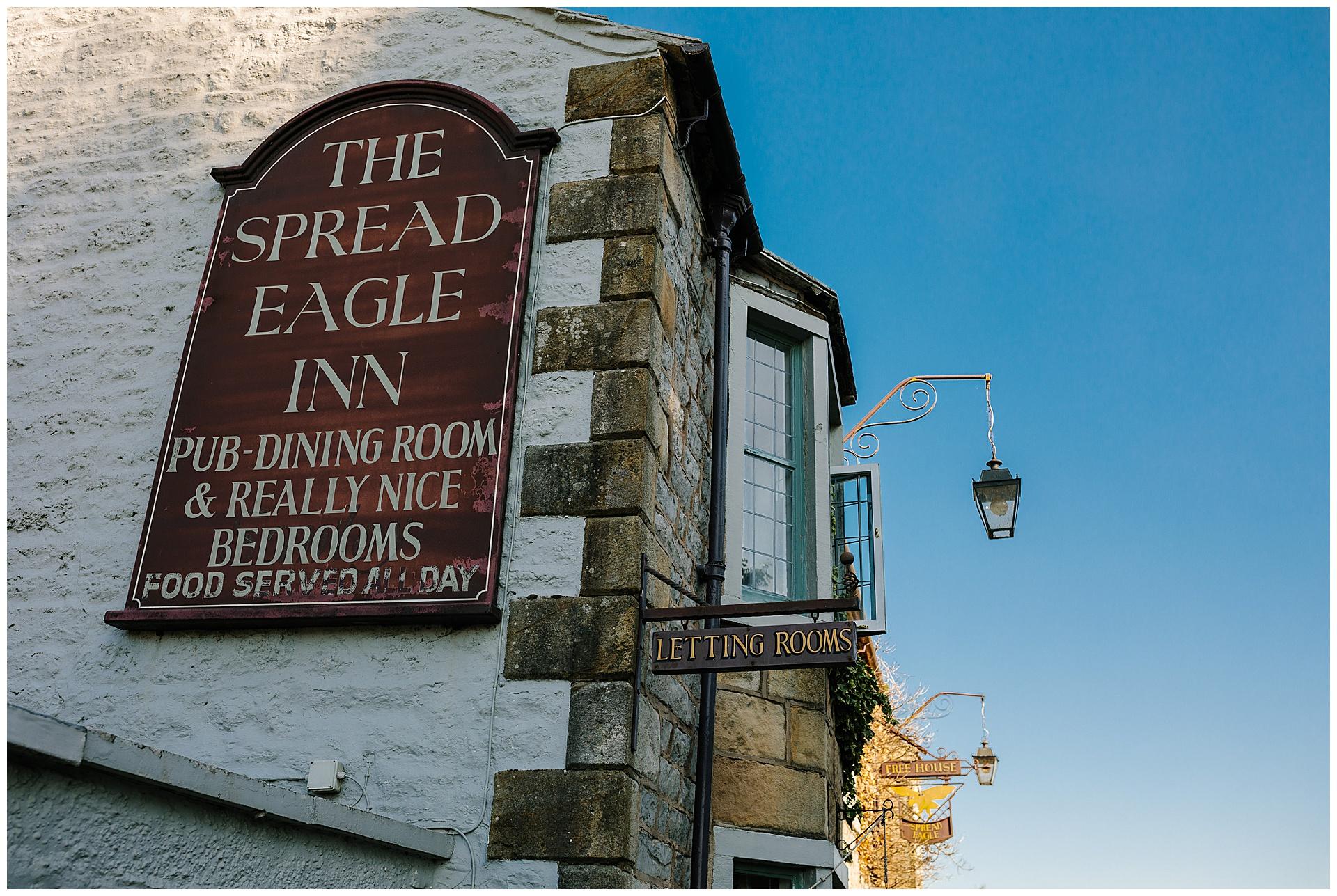 award winning wedding at the spread eagle inn lancashire