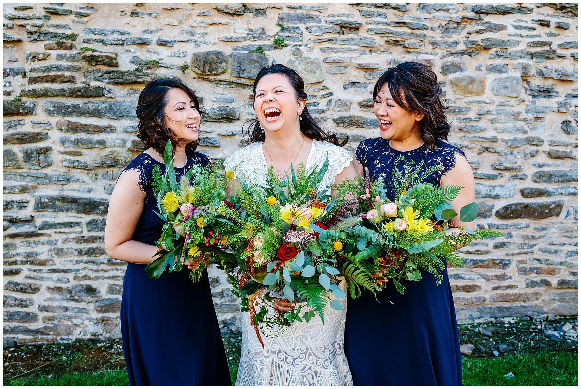 bridesmaids portraits wedding photography