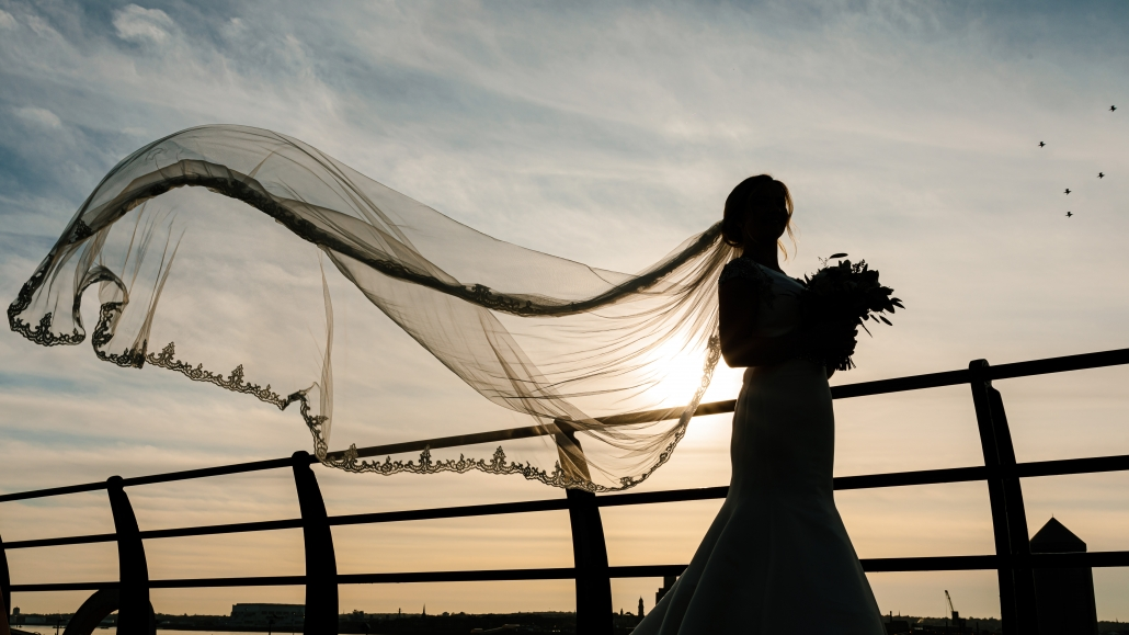 Liverpool Wedding on the waterfront