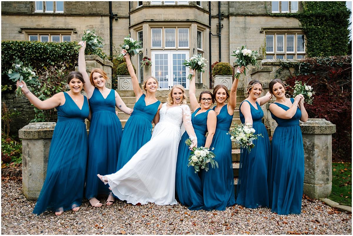 bridesmaids group photos