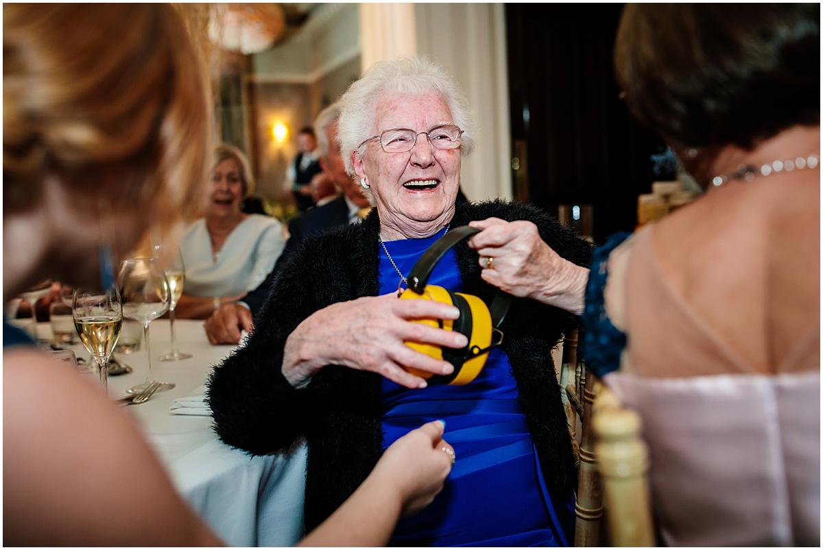 family member laughing